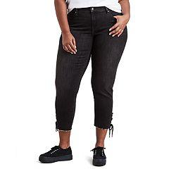 Plus Size Levi's® 711 Lace-Up Ankle Jeans