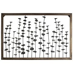 Rustic Seaweed Wood Wall Decor