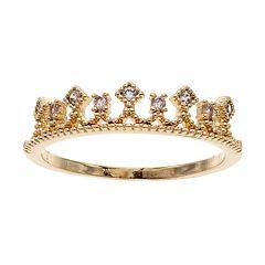 LC Lauren Conrad Crown Ring