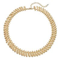 Napier Textured Chunky Necklace