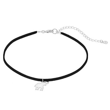 LC Lauren Conrad Elephant Choker Necklace