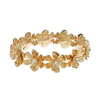 LC Lauren Conrad Flower Stretch Bracelet