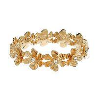 LC Lauren Conrad Flower Stretch Bracelet