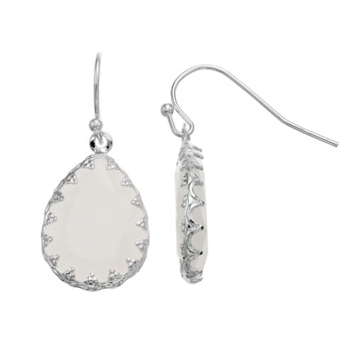 LC Lauren Conrad Teardrop Nickel Free Earrings