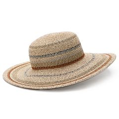 Women's SONOMA Goods for Life™ Striped Floppy Hat