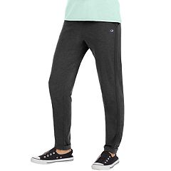 Women's Champion Heathered Jersey Jogger Sweatpants