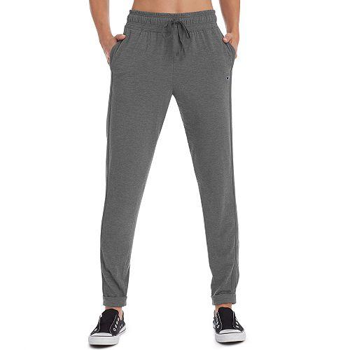 b6ec08886256 Women s Champion Heathered Jersey Jogger Sweatpants