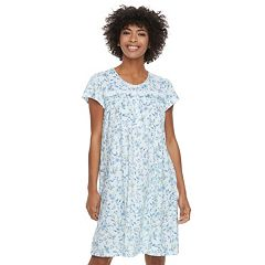 Women's Croft & Barrow® Lace Trimmed Sleep Gown