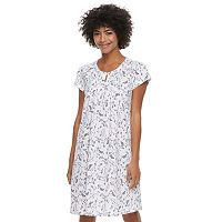 Women's Croft & Barrow® Keyhole Nightgown