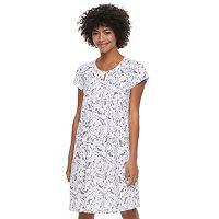Women's Croft & Barrow® Keyhole Nightgown