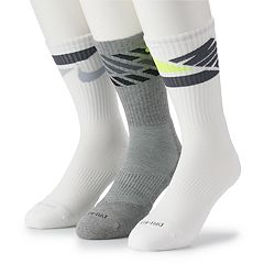 Men's Nike 3-pack Dri-FIT Cushioned Crew Socks
