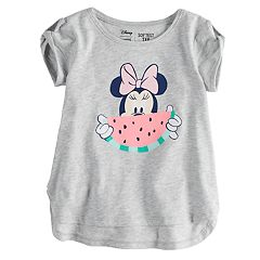 Disney's Minnie Mouse Toddler Girl Watermelon Softest Graphic Tee by Jumping Beans®