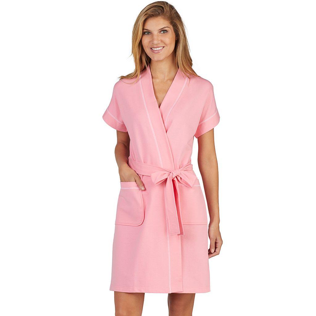 Women's Stan Herman Dolman Wrap Robe