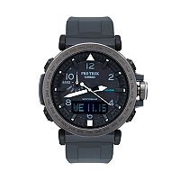 Casio Men's PRO TREK Triple Sensor Analog-Digital Tough Solar Watch - PRG650Y-1