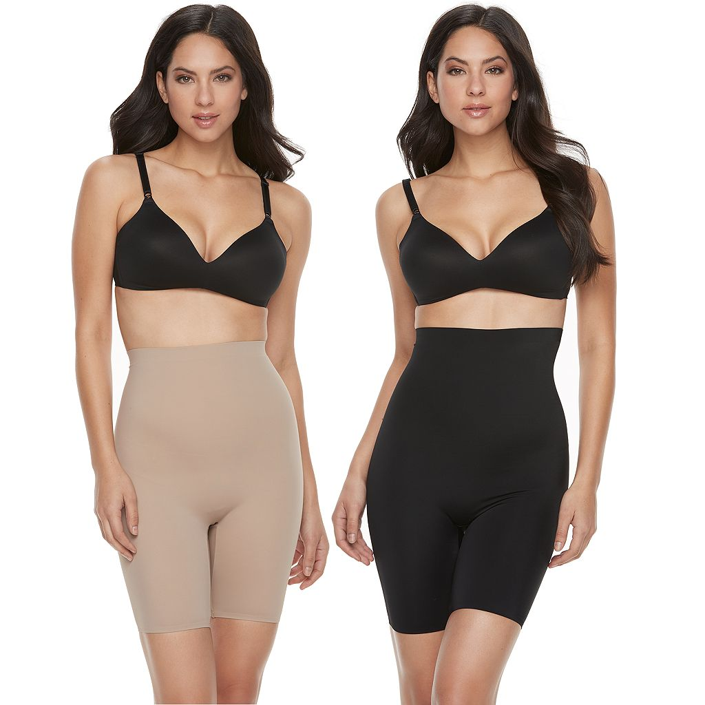 Warner's 2-pack High-Waisted Thigh Slimmer 803261WA