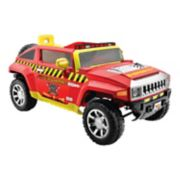 Kid Motorz Fire Engine 12V Hummer Ride-On Vehicle