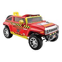 Kid Motorz Fire Engine 12V Hummer Ride-On Vehicle