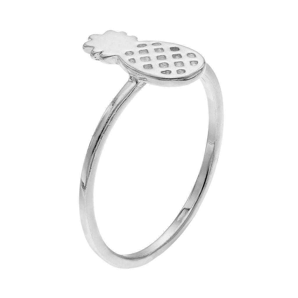 LC Lauren Conrad Pineapple Ring