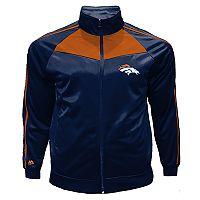 Big & Tall Majestic Denver Broncos Tricot Track Jacket