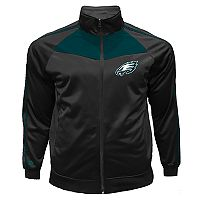 Big & Tall Majestic Philadelphia Eagles Tricot Track Jacket