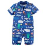Baby Boy Carter's Sea Creature One-Piece Swimsuit