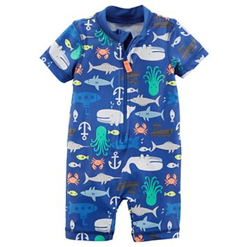 Baby Boy Carter's Sea Creature One-Piece Swimsuit