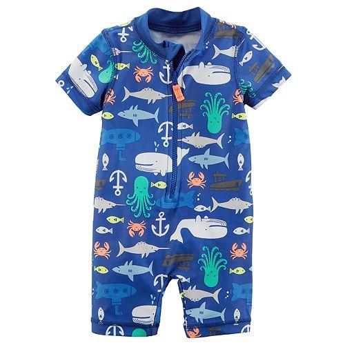 55d08326b4 Baby Boy Carter's Sea Creature One-Piece Swimsuit