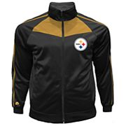 Big & Tall Majestic Pittsburgh Steelers Tricot Track Jacket