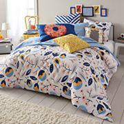 Scribble Floral Medley Comforter Set