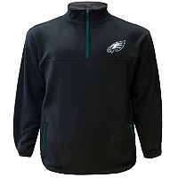 Big & Tall Majestic Philadelphia Eagles Fleece Pullover