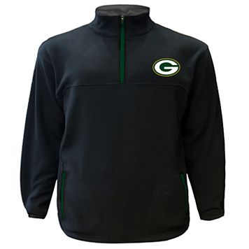 Big & Tall Majestic Green Bay Packers Fleece Pullover
