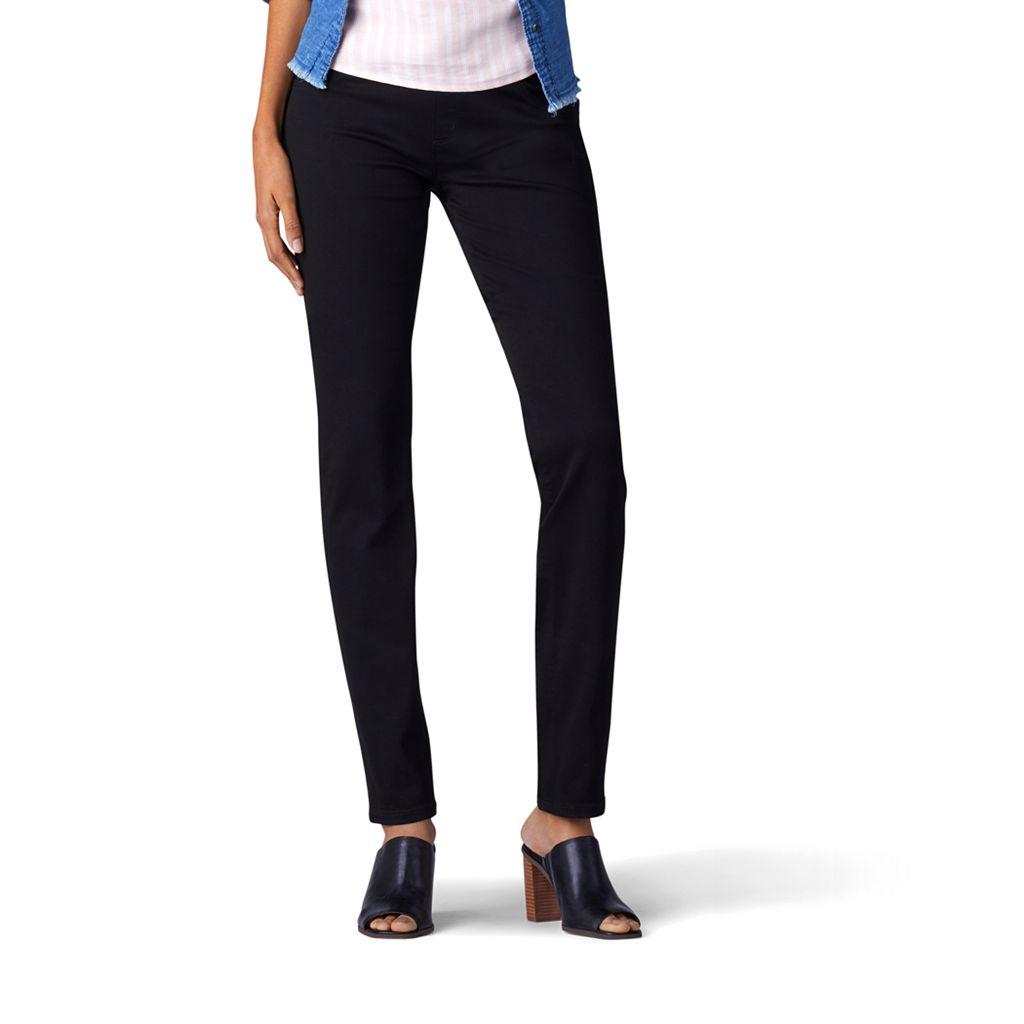 Women's Lee Rebound Pull-On Straight-Leg Jeans