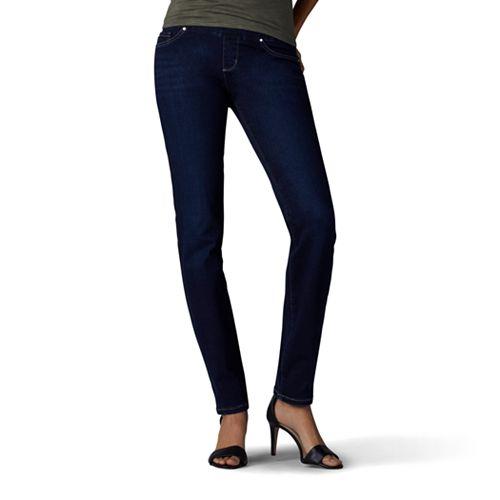 Sculpting Leg Lee Pull Jeans Women's On Slim E2ID9H