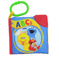 Kids Preferred Sesame Street ABC's Soft Book