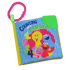 Kids Preferred Sesame Street Counting with Friends Soft Book