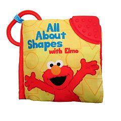Kids Preferred Sesame Street All About Shapes with Elmo Soft Book
