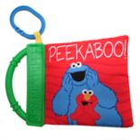 "Kids Preferred Sesame Street ""Peek-a-Boo"" Soft Book"