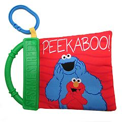 Kids Preferred Sesame Street 'Peek-a-Boo' Soft Book