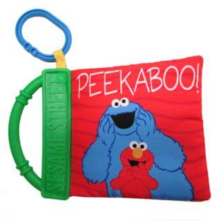 "Kids Preferred Sesame Street ""Peek-a-Boo"" Soft Book"