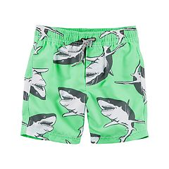 Toddler Boy Carter's Shark Swim Trunks