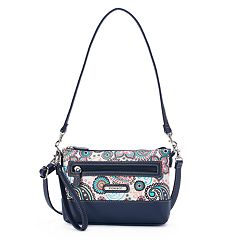 Stone & Co. Paisley Leather 4-Bagger Convertible Crossbody Bag