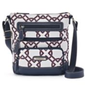 Stone & Co. Knot Print Leather Crossbody Bag