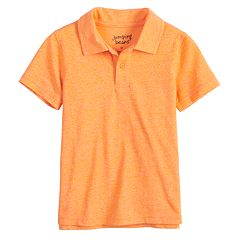 Baby Boy Jumping Beans® Heathered Polo