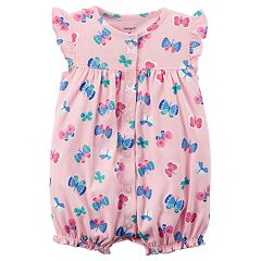 Baby Girl Carter's Butterfly Romper