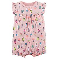 Baby Girl Carter's Ice Cream Treat Snap-Up Romper