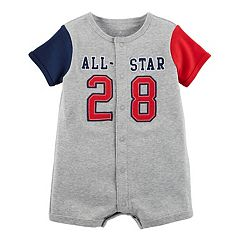 Baby Boy Carter's 'All-Star 28' Snap-Up Romper