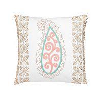 Dena Home Marielle Paisley Embroidered Throw Pillow