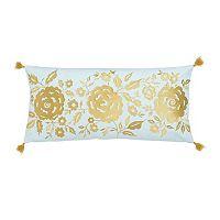 Dena Home Marielle Floral Motif Throw Pillow