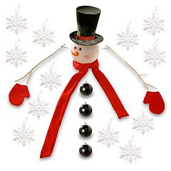 National Tree Company Snowman Christmas Tree Decor Kit 21-piece Set