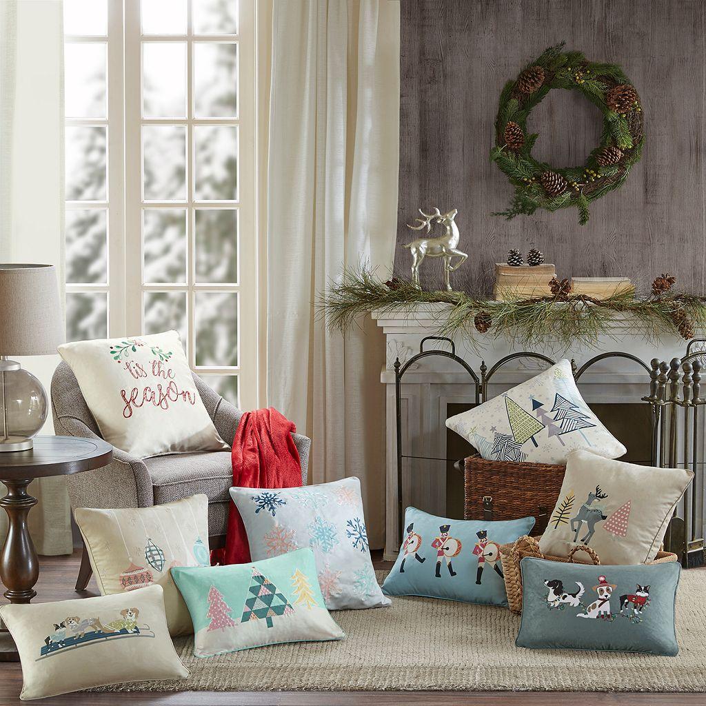 Madison Park Ornament Treasures Throw Pillow